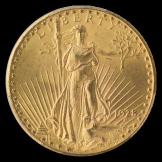 1928 $20 Saint Gaudens PCGS MS66 CAC
