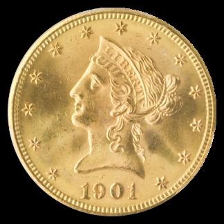 1901-S $10 Liberty PCGS MS65 CAC
