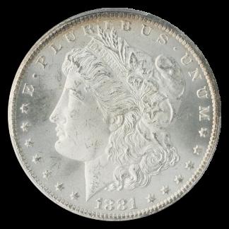 1881-CC Morgan $1 PCGS MS66 CAC
