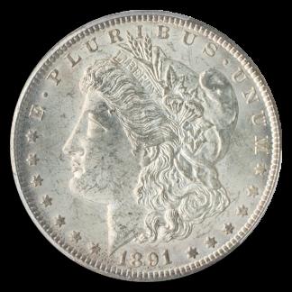 1891-CC Morgan $1 PCGS MS64 CAC