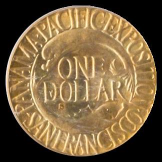 1915-S Panama Pacific $1 PCGS MS65 CAC