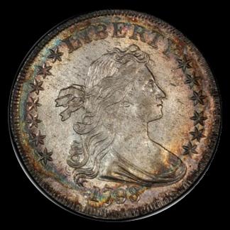 1798 Draped Bust $1 NGC XF45 CAC