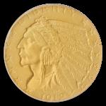1912 $5 Indian PCGS PR66 CAC