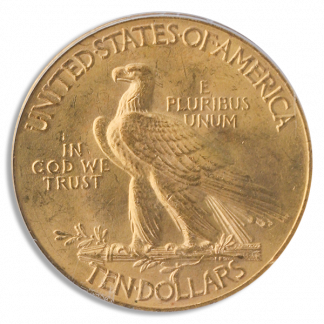1932 $10 Indian Gold Coin PCGS Mint State 65(MS65) CAC