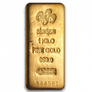 1 kilo Gold Bar (Types and Conditions Vary)