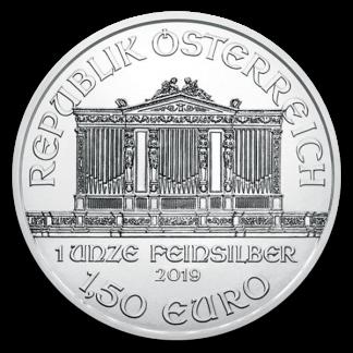 Any Date 1 oz Austrian Silver Philharmonic Coin (BU, Dates Vary)