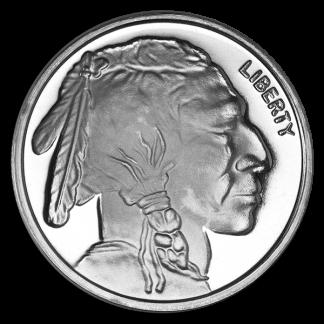 1 oz American Buffalo Silver Round Coin (BU, Types Vary)