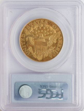 1801 $10 Draped Bust PCGS MS61 CAC