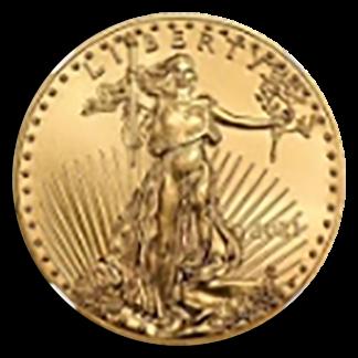 2021 1/2 oz Gold Eagle NGC T2