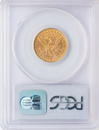 1897 $5 Liberty PCGS MS63 CAC