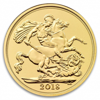 British Gold Sovereign Coin – Our Choice of Type (Circ, Dates Vary, Types Vary)
