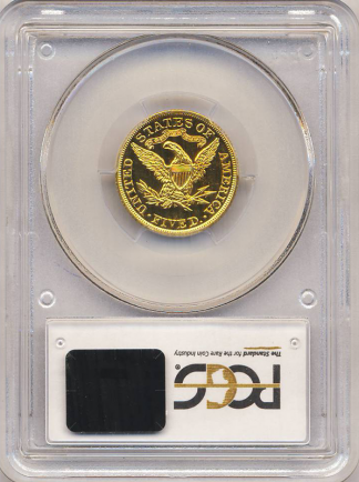 1906 $5 Liberty PCGS PR65 CAC