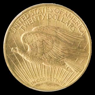 $20 ST GAUDENS 1910 PCGS