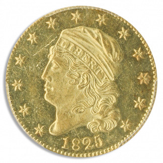 1825 $5 Capped Bust PCGS MS61 CAC
