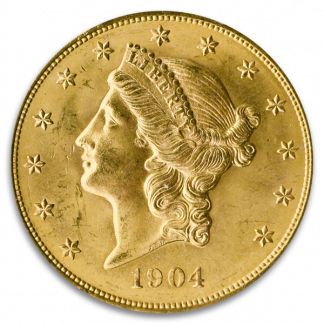 $20 Gold Liberty Coin (Very Fine)