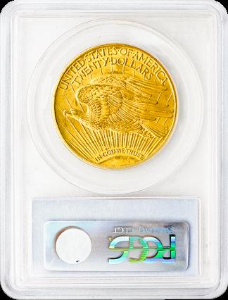 $20 Saint Gaudens MS65 Certified