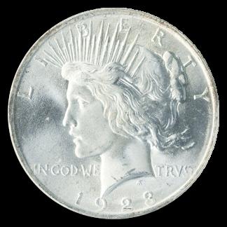 PEACE $1 CERTIFIED MS66