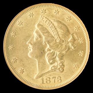 1873-CC 420 Liberty NGC AU58 CAC
