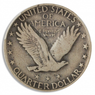 1918/7-S Standing Liberty Quarter PCGS F15 CAC