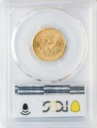 1886-S $5 Liberty PCGS MS66 CAC