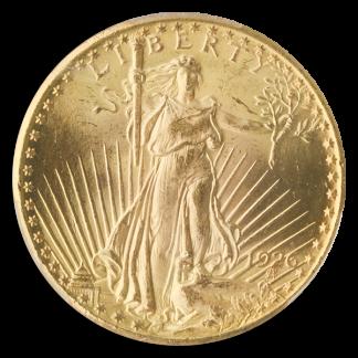 1926 $20 Saint Gaudens PCGS MS65 CAC
