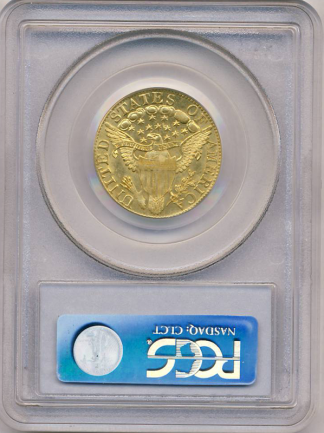 1803/2 $5 Draped Bust PCGS MS63 CAC