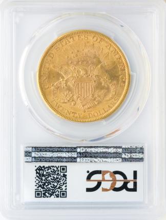 1882-S $20 Liberty PCGS MS63
