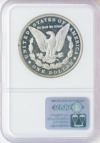 1895 Morgan $1 NGC PR67 CAC
