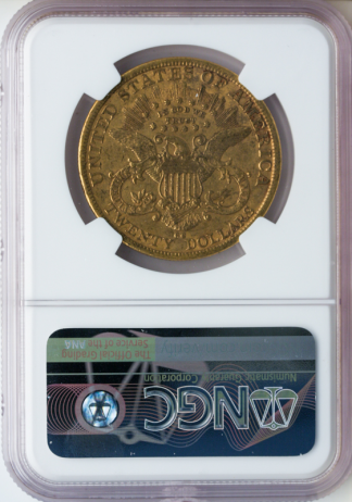 1879-CC $20 Liberty NGC AU50 CAC