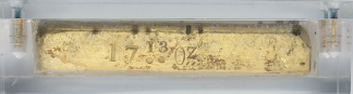 BLAKE & CO. Gold Bar SS Central America #5186 17.13 oz. .847 Fine $299.92