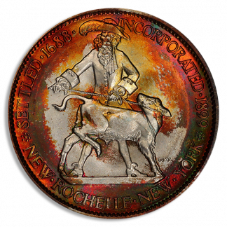 1938 New Rochelle NGC MS67 CAC