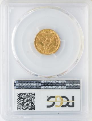 1888 $2 1/2 Liberty PCGS MS65 CAC
