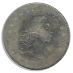1794 Flowing Hair $1 PCGS XF40 CAC