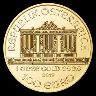 1 oz Austrian Gold Philharmonic Coin (Dates Vary, BU)