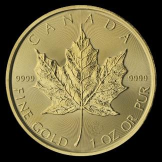 1 oz. Canadian Gold Maple Leaf (BU, Dates Vary)