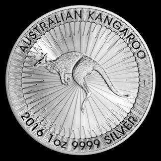 Any Date 1 oz Australian Silver Kangaroo Coin (BU, Dates Vary)
