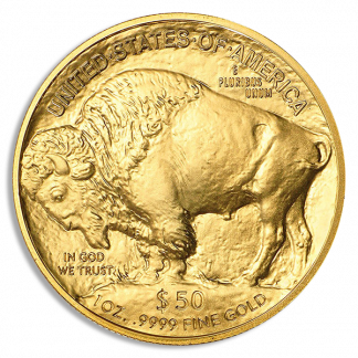 2021 1 oz Gold Buffalo NGC