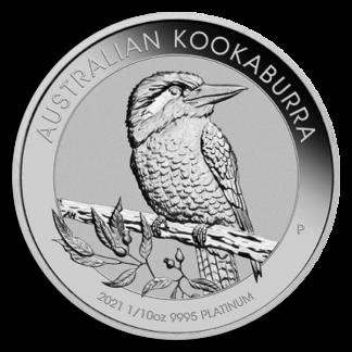 Kookaburra Platinum 1/10 oz