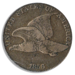 1856 Flying Eagle Cent PCGS PR30 CAC