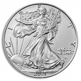 2021(S) Type2 Silver Eagle NGC