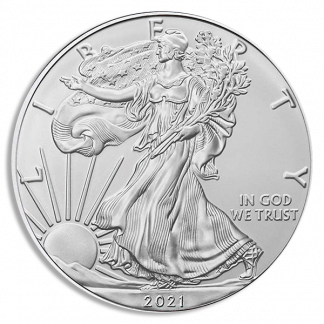 2021(S) Type2 Silver Eagle PCG