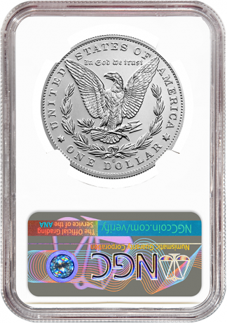 2021 'O' Privy Morgan Dollar NGC MS70 100th Anniversary Early Releases