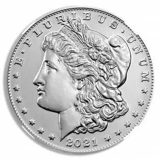 2021-D  Morgan Dollar NGC MS70 100th Anniversary Early Releases