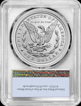 2021-P  Morgan Dollar PCGS MS70 100th Anniversary First Strike