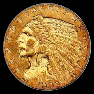 $2 1/2 Indian AU