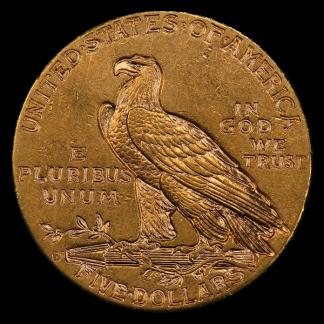 $5 Indian XF