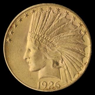 $10 Indian XF