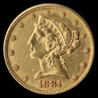 $5 Liberty AU