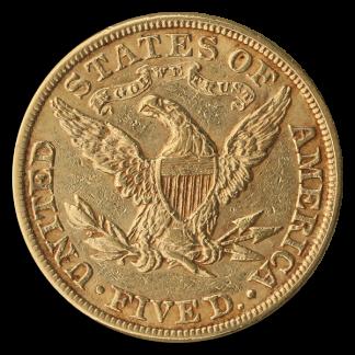 $5 Liberty VF
