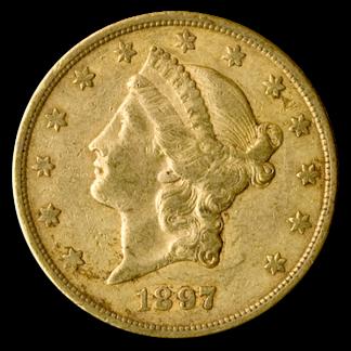 $20 Liberty XF